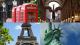 Capitales de la moda masculina: Londres, Milán, Paris, Nueva York. Estilo hombre. Moda para Hombre.