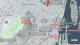 Mapa de atracciones, lugares turísticos en la ciudad de Montreal, Quebec, Canada.
