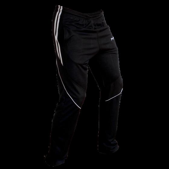 Pants deportivos hombre. Negro Blanco. Ropa deportiva hombre. Tienda.