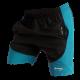 Short deportivo hombre Destroyer, corredor, correr, runner, tela lona ligera impermeable. Negro Azul Neon. Ropa deportiva hombre. Tienda.