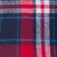 Cuadros Escocés Azul Rojo Blanco 0837