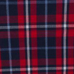 Cuadros Escocés Grande Azul Rojo Blanco 0916